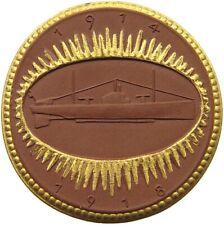 GERMANY PORCELAIN MEDAL 1914-1918  UNTERSEEBOOTSKAMPFERN U-BOAT #alb42 127