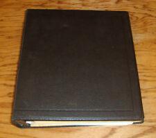 Original 1977 1978 1979 Chevrolet Dealer Service Information Bulletin Album