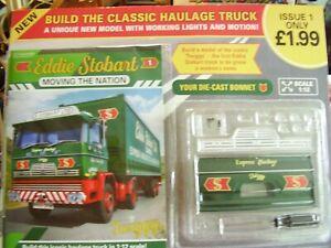 BUILD THE CLASSIC HAULAGE TRUCK - EDDIE STOBART DIE-CAST 1: 12 - HACHETTE # 1