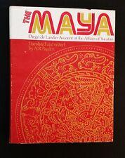 The Maya - Diego de Landa's Account Of The Affairs Of Yucatan - hbdj 1975