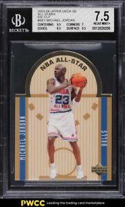 2003 Upper Deck Future All-Star Die-Cut Michael Jordan #SE1 BGS 7.5 NRMT+