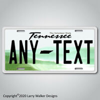 TENNESSEE ANY TEXT Your Personalized Text Aluminum License Plate Tag NEW