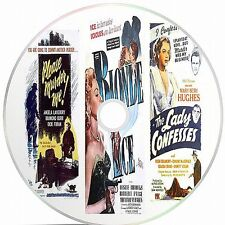 Blonde Ice, Please Murder Me, The Lady Confesses 3 Public Domain Films On  A DVD