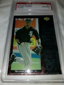 * GEM MINT * MICHAEL JORDAN 1994 UPPER DECK BASEBALL STAR ROOKIES CHICAGO SOX