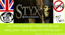 Styx: Master of Shadows Steam key NO VPN Region Free UK Seller