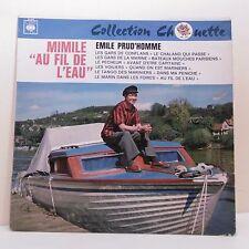 """33T Emile PRUD'HOMME Disque Vinyle LP 12"""" MIMILE AU FIL DE L'EAU - CBS 52.410"""
