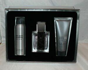 Victoria's Secret Very Sexy Platinum for him Cologne Wash & Deo Body Spray Set