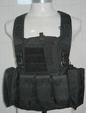 New Airsoft Combat Tactical Molle Plate Fighting Load Carrier Vest
