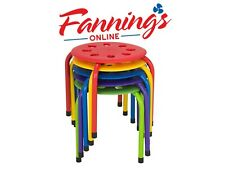 Norwood Commercial Furniture NOR-AUH1200AC-SO Plastic Stack Stools 12