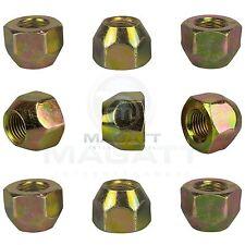 16 Tuercas de las Ruedas para Acero y Llantas de Aluminio Nissan Almera