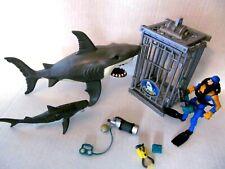 Animal Planet Extreme Shark Attack Set figures