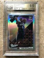 19-20 Donruss Optic #1 The Rookies RC Rookie ZION WILLIAMSON Holo Prizm BGS 9.5