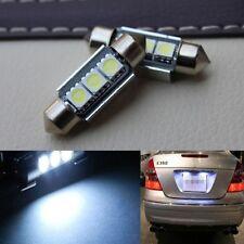 Fashion 2pcs Bright LED Canbus License Plate Light for VW Golf 3 4 5 6 Passat 3c