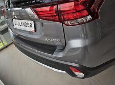 Mitsubishi Outlander  ab 2015-  LADEKANTENSCHUTZ - Schwarz mit  Abkantung