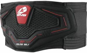 EVS Men's Kidney Belt (Black, XX-Large) Black | Red KBC19-BK-XXL 72-8341
