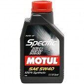 OLIO MOTUL 101573 SPECIFIC-VW 505.01-02SAE 5W40 100% SINTETICO