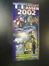 Flyer Evenementenprogramma 2002 TT Cuircuit Assen
