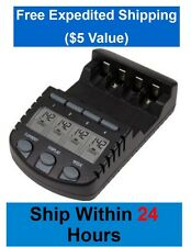 La Crosse Technology BC700-CBP Battery Charger, Free Expedited Shipping $5 value