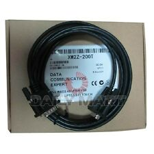 OMRON XW2Z-200T XW2Z200T Cable Assembly 2m 28AWG 9 POS D-Sub to 9 POS D-Sub M-F