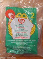 McDonald's Ty Teenie Beanie #2 1999 Antsy The Anteater