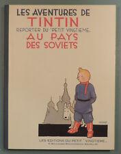 Tintin 1 au pays des Soviets vers Petit XXe Fac Simile NB Herge Casterman 1981
