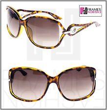 CHRISTIAN DIOR Volute 2 791HA Brown Havana OPTYL Square Sunglasses Volute2