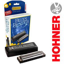 New Hohner Bbbx-D Blues Bender P.A.C Professional Harmonica Key of D
