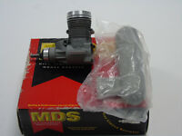 L-MDS-04001 MDS RC Model Engine 40 Pro Aero & Silencer (No Carb) Boxed
