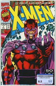 X-Men #1 (Marvel 1991) | RAW 8.5 VF+ | Jim Lee Art | Cover D - Magneto Cover
