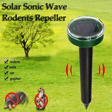 Ultrasonic Solar Power Snake Mouse Pest Rodent Repeller Rat control device