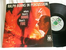 RALPH BURNS Where There's Burns There's Fire Al Cohn Zoot Sims Bob Brookmeyer LP