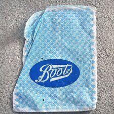 * Vintage Boots plastic carrier bag *