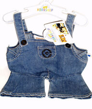 Build a Bear Minions Blue Denim Overalls Despicable Me 3 Movie Edition Outfit