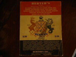 Vintage 1973 Herters Inc Catalog Hunting Fishing Apparel Gems Waseca MN Mitchell