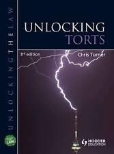 Unlocking Torts (UNTL), Good Condition Book, Sue Hodge, Chris Turner, ISBN 97814