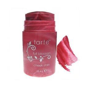 New Tarte Natural Swirl Cheek Stain Blush FULL BLOSSOM Rosy Pink 1 oz read desc