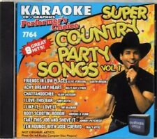 RARE Performer's Choice Super Country Party Songs Vol. 1 Karaoke- Brand New- CD