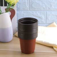 100PCS Plastic Nursery Pot Flower Plant Nursery Container Garden