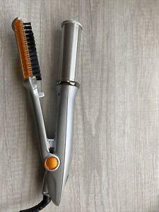 EUC Original InStyler 1-1/4Rotating Hot Curling Iron Silver Brush