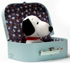 Snoopy in Space Traveler Suitcase by Teddy Hermann - Peanuts soft toy dog