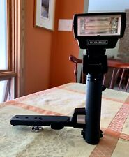 [Near MINT] OLYMPUS Power Bounce Grip 2 System with T-32 Flash, TESTED!