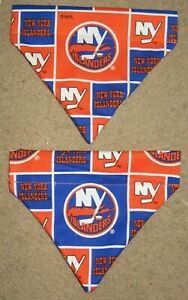 NY Islanders Dog Bandana - 5 sizes XS - XL
