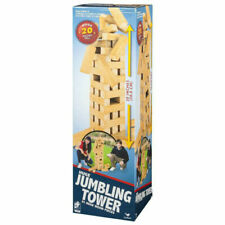 Cardinal Huge Jumbling Tower 51 Wood Pieces Board Game