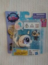 NEW Dolphin & Penguin Glimmer Pet Littlest Pet Shop Pets in the City #131 & #132