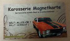 Grip Magnetkarte, Karosserie Karte, Magnet, Unfall, Spachtel, Lack, Prüfer,Check