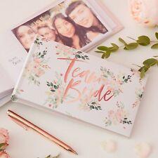 Team Bride Hen Do Photo Album 6x4 Rose Gold Wedding Hen Party Accessories Gift