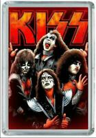 Iman Nevera KISS, Fridge Magnet Music Rock, Heavy Metal
