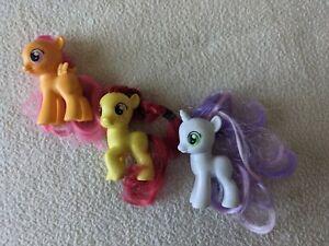 My Little Pony Cutie Mark Crusaders Apple Bloom Sweetie Belle Scootaloo Lot F/S!