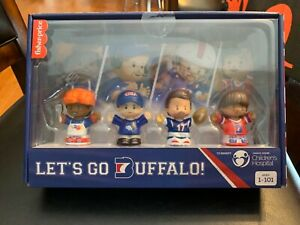 Fisher Price Buffalo Bills Little People Collector