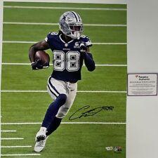Autographed/Signed CEEDEE LAMB Dallas Cowboys 16x20 Football Photo Fanatics COA